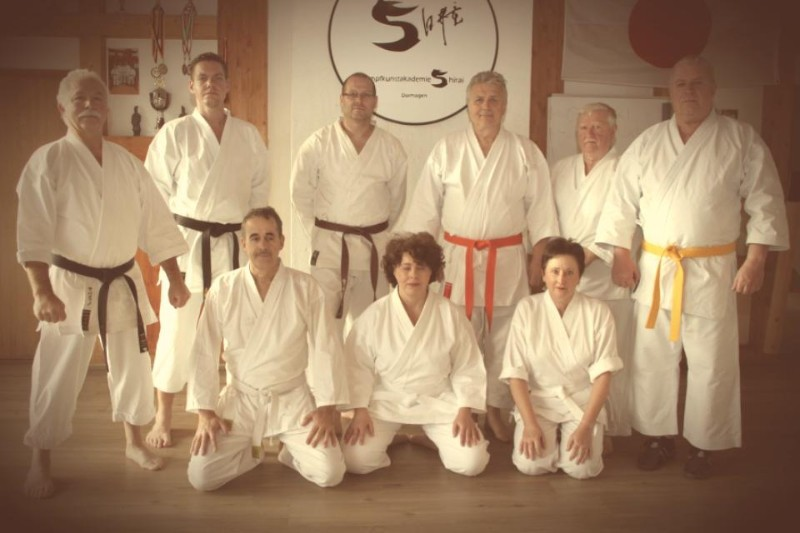 Karate Seniorensport in Dormagen
